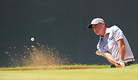 Matthew Millar (AUS) in action on the 6th during Round 2 Matchplay of the ISPS Handa World Super 6 Perth at Lake Karrinyup Country Club on the Sunday 11th February 2018.<br />