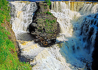Kaministiquia River at Kakabeka Falls<br /> Kakabeka Falls Provincial Park<br /> Ontario<br /> Canada