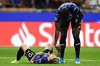 Dejection of Alejandro Gomez Duvan Zapata of Atalanta<br /> Milano 01-10-2019 Stadio Giuseppe Meazza <br /> Football Champions League 2019//2020 <br /> Group Stage Group C <br /> Atalanta - Shakhtar Donetsk  <br /> Photo Image Sport / Insidefoto