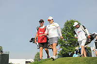 Inbee Park (KOR) departs the 16th tee during Thursday's first round of the 72nd U.S. Women's Open Championship, at Trump National Golf Club, Bedminster, New Jersey. 7/13/2017.<br /> Picture: Golffile | Ken Murray<br /> <br /> <br /> All photo usage must carry mandatory copyright credit (&copy; Golffile | Ken Murray)