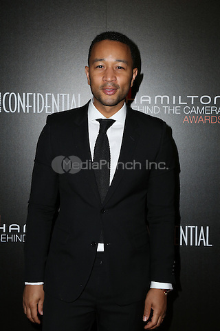 LOS ANGELES, CA - NOVEMBER 06: John Legend arrives at the 9th Hamilton Behind The Camera Awards at Exchange LA on November 6, 2016 in Los Angeles, California. (Credit: Parisa Afsahi/MediaPunch).