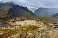 Brooks range mountains, Gates of the Arctic National Park, Alaska.