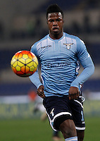 Calcio, Serie A: Lazio vs Juventus. Roma, stadio Olimpico, 4 dicembre 2015.<br /> Lazio&rsquo;s Keita Balde Diao in action during the Italian Serie A football match between Lazio and Juventus at Rome's Olympic stadium, 4 December 2015.<br /> UPDATE IMAGES PRESS/Isabella Bonotto