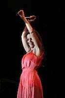 GUARUJA, SP, 08 DE JANEIRO 2012. VERAO SHOW GUARUJA- A cantora ivete Sangalo, no Verao Show do Guaruja, no Ginasio do Guaibe, no Guaruja, na noite deste sabado, 7. FOTO MILENE CARDOSO - NEWS FREE