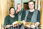 Food Fair: Tasting the food in the Taste The World Food Trail in Listowell on Saturday last were Cecelia O'Mahony, John Chute & Lienne Gabrielyan From Gapos Restaurant, Listowel.