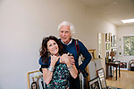 LOS ANGELES, CA. APRIL 9, 2017: Famed photographer Douglas Kirkland and his wife and creative partner Francoise Kirkland at their home in the Hollywood Hills on Sunday, April 9, 2017. CREDIT: Brinson+Banks