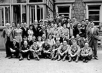 Staff from The Cork Iron &amp; hardware Co. Ltd from North Main Steet, Cork on their annual staff outing to Killarney on June 28th 1952.<br /> Photo: Daniel MacMonagle