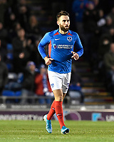 Goalscorer Ben Close of Portsmouth during Portsmouth vs Altrincham, Emirates FA Cup Football at Fratton Park on 30th November 2019