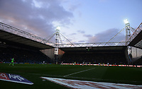 A general view of Deepdale Stadium, home of Preston North End FC<br /> <br /> Photographer Kevin Barnes/CameraSport<br /> <br /> The EFL Sky Bet Championship - Preston North End v Leeds United -Tuesday 9th April 2019 - Deepdale Stadium - Preston<br /> <br /> World Copyright &copy; 2019 CameraSport. All rights reserved. 43 Linden Ave. Countesthorpe. Leicester. England. LE8 5PG - Tel: +44 (0) 116 277 4147 - admin@camerasport.com - www.camerasport.com