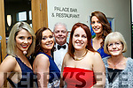 Glam<br /> -------<br /> L-R Sinead Keane, Ann Sicat, Michael Keane, Arena Eager, Denise Kelliher&amp;Ann McMahon at the Connect Kerry Women in Business Awards night last Friday in the Ballyroe heights hotel, Tralee,