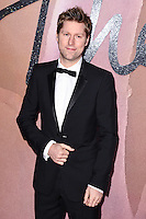 Christopher Bailey<br /> at the Fashion Awards 2016, Royal Albert Hall, London.<br /> <br /> <br /> &copy;Ash Knotek  D3210  05/12/2016