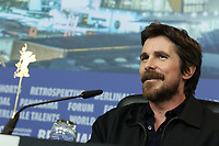 "Christian Bale attending the ""Vice"" Press Conference held at Grand Hyatt Hotel during 69th Berlinale International Film Festival, Berlin, Germany, 11.02.2019. Photo by Christopher Tamcke/insight media /MediaPunch ***FOR USA ONLY***"