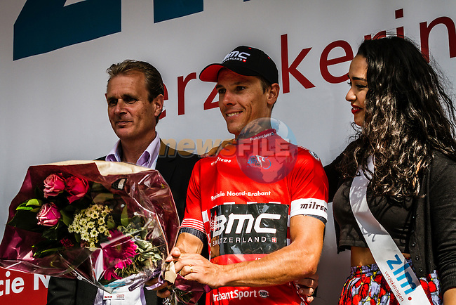 Phillipe GILBERT (BEL, BMC) on the podium, Stage 4 Hotel Verviers - La Gileppe (Jalhay), België, Ster ZLM Toer, Gileppe Belgium, 21th June 2014, Photo by Thomas van Bracht / Peloton Photos