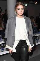 Olivia Palermo at the Jasper Conran Spring Summer 2018 show as part of London Fashion Week, London, UK. <br /> 18 September  2017<br /> Picture: Steve Vas/Featureflash/SilverHub 0208 004 5359 sales@silverhubmedia.com
