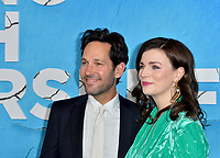 "LOS ANGELES, USA. October 17, 2019: Paul Rudd & Aisling Bea at the premiere of ""Living With Yourself"" at the Arclight Theatre, Hollywood.<br /> Picture: Paul Smith/Featureflash"