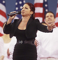 Gloria Estefan<br /> U.S. Open<br /> 2010<br /> Photo By John Barrett/CelebrityArchaeology.com