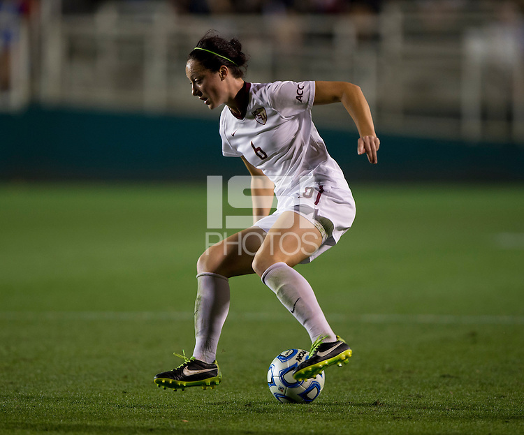 Megan Campbell. Florida State defeated Virginia Tech, 3-2,  at the NCAA Women's College Cup semifinals at WakeMed Soccer Park in Cary, NC.