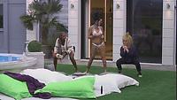 Celebrity Big Brother 2017<br /> Sandi Bogle, Helen Lederer<br /> *Editorial Use Only*<br /> CAP/KFS<br /> Image supplied by Capital Pictures