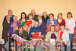 PARTY: Enjoying the Valentine's Day party in St Joseph's Day Care Centre, Rathmore, on Thursday were front l-r: Con O'Keeffe, Kathleen Moynihan, Eileen O'Callaghan and Grace Crowley. Back l-r: Joe Favier, Joan McAuliffe, Peter Tysoe, Eileen O'Donoghue, Maureen Coffey, Donie Mulcahy, Julie O'Keeffe, John Cahill, Nell O'Mahony, Ann Cronin and Carol Lucas.   Copyright Kerry's Eye 2008