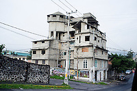 A building in the Ajusco, Mexico City, Mexico