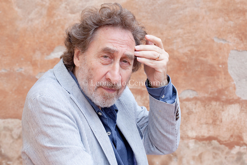 Howard Jacobson, inglish writer and jornalist.  © Leonardo Cendamo