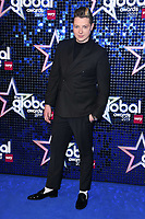 LONDON, UK. March 07, 2019: John Newman arriving for the Global Awards 2019 at the Hammersmith Apollo, London.<br /> Picture: Steve Vas/Featureflash