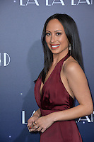 Dancer Cheryl Burke at the Los Angeles premiere for &quot;La La Land&quot; at the regency Village Theatre, Westwood. <br /> December 6, 2016<br /> Picture: Paul Smith/Featureflash/SilverHub 0208 004 5359/ 07711 972644 Editors@silverhubmedia.com