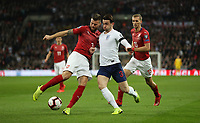 England's Ben Chilwell and Czech Republic's Ondrej Celustka<br /> <br /> Photographer Rob Newell/CameraSport<br /> <br /> UEFA Euro 2020 Qualifying round - Group A - England v Czech Republic - Friday 22nd March 2019 - Wembley Stadium - London<br /> <br /> World Copyright © 2019 CameraSport. All rights reserved. 43 Linden Ave. Countesthorpe. Leicester. England. LE8 5PG - Tel: +44 (0) 116 277 4147 - admin@camerasport.com - www.camerasport.com