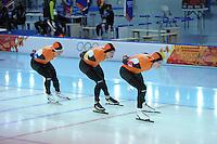 OLYMPICS: SOCHI: Adler Arena, 21-02-2014, Team Pursuit, ©photo Martin de Jong
