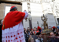 Processione e miracolo  di San Gennaro
