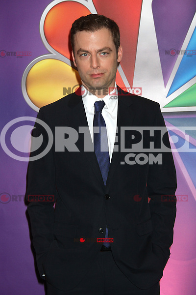 Justin Kirk with Crystal at NBC's Upfront Presentation at Radio City Music Hall on May 14, 2012 in New York City. ©RW/MediaPunch Inc.