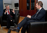 130108: Daniel BAHR, German Federal Minister of Health, meets with EU-Commissioner Tonio BORG