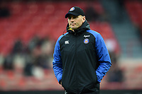 Bath Rugby first team coach Girvan Dempsey looks on prior to the match. Heineken Champions Cup match, between Stade Toulousain and Bath Rugby on January 20, 2019 at the Stade Ernest Wallon in Toulouse, France. Photo by: Patrick Khachfe / Onside Images