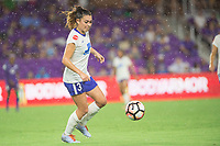 Orlando, FL - Saturday September 02, 2017: Brooke Elby during a regular season National Women's Soccer League (NWSL) match between the Orlando Pride and the Boston Breakers at Orlando City Stadium.