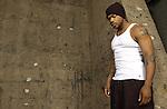 Rapper Xzibit poses for a photo shoot.