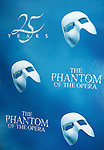 Poster at the 'Phantom of the Opera' - 25 Years on Broadway Gala Performance at the Majestic Theatre in New York City on 1/26/2013