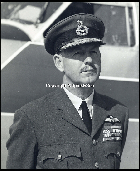 BNPS.co.uk (01202 55883&pound;)<br /> Pic: Spink&amp;Son/BNPS<br /> <br /> Kenneth Cross.<br /> <br /> The remarkable archive of an RAF officer who was one of six out of 37 men to survive three days adrift in the freezing Arctic Ocean have come to light.<br /> <br /> Sir Kenneth Cross had already cheated death by dodging a bullet aimed for his head in the cockpit of his plane when the aircraft carrier he was on was attacked and sunk.<br /> <br /> He plunged into the icy sea and was one of 37 survivors to make it into a lifeboat. With hardly any food or water on board, most of the shipwrecked men died from exposure over the next 70 hours.<br /> <br /> Now a water-stained diary he kept while shipwrecked, his RAF log book and 16 medals are coming up for sale at auctioneers Spink of London.