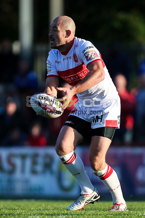 Picture by Alex Whitehead/SWpix.com - 02/06/2016 - Rugby League - First Utility Super League - Wakefield Trinity Wildcats v Hull KR - Rapid Solicitors Stadium, Wakefield, England - Hull KR's Terry Campese.