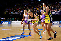 Pulse&rsquo; Whitney Souness in action during the ANZ Premiership - Pulse v Stars at TSB Arena, Wellington, New Zealand on Monday 13 May 2019. <br /> Photo by Masanori Udagawa. <br /> www.photowellington.photoshelter.com