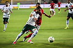 Egypt's Al Ahly players and Al Masry players cduring Egyptian Cup Final, in Alexandria, Egypt on August 15, 2017. Photo by Stringer