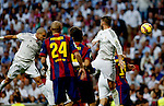 """Spanish  League""- match Real Madrid Vs FC Barcelona- season 2014-15 - Santiago Bernabeu Stadium -Pepe(Real Madrid) Scores a goal during the Spanish League match against FC Barcelona(Photo: Guillermo Martinez/Bouza Press/ALTERPHOTOS)"