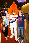 Nederland, Amsterdam, 4 juli 2012.Seizoen 2012/2013.NOC NSF het Olympic en Paralympic Team Netherlands.Sophie Polkamp en Epke Zonderland