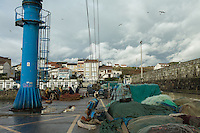 November 30, 2011 - Laxe (La Coruña). The small port of Laxe bases its economy on percebes' harvesting and other fishing-related activities. © Thomas Cristofoletti 2011