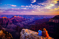 View from Bright Angel Point, North Rim, Grand Canyon, Arizona