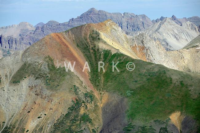 Colorado Rockies, south of Aspen, Colorado. July 2012