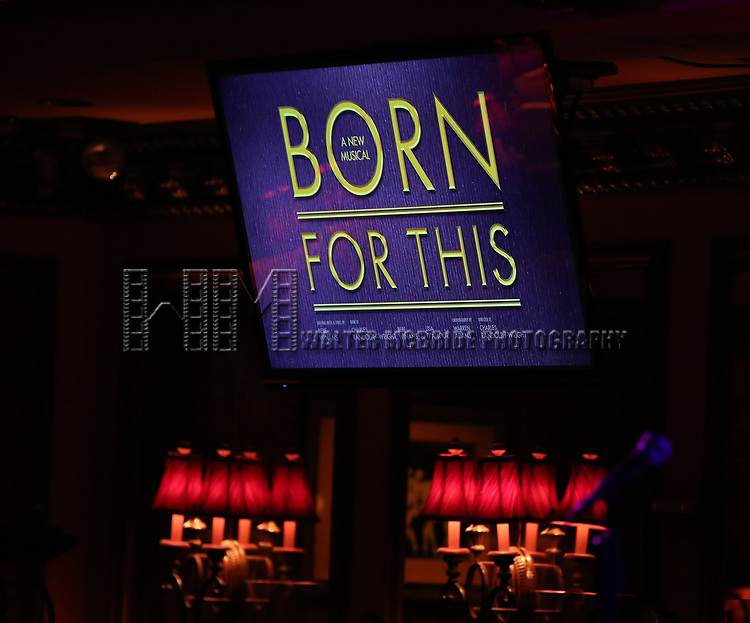"On stage during a Song preview performance of the BeBe Winans Broadway Bound Musical ""Born For This"" at Feinstein's 54 Below on November 5, 2018 in New York City."