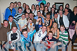 18TH BIRTHDAY FUN: James Connelly, Cahermoneen (seated 4th right), having fun, together with a large group of family and friends to celebrate his 18th birthday on Friday night at the Glen Bar.21ST BIRTHDAY BASH: Owen Kane, Shanakill (seated centre), got together with family and friends to celebrate his 21st birthday at Brenners nightclub on Friday night.   Copyright Kerry's Eye 2008