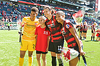 Portland, OR - Sunday, August 25, 2019: Portland Thorns vs Chicago Red Stars at Providence Park.