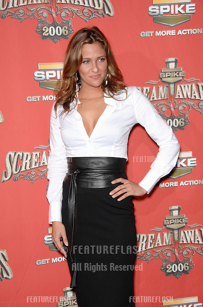 JILL WAGNER at the Spike TV Scream Awards 2006 at the Pantages Theatre, Hollywood..October 7, 2006  Los Angeles, CA.Picture: Paul Smith / Featureflash