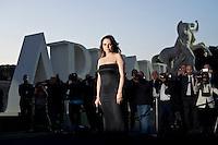 Roma, 5 Giugno, 2013. Francesca Neri al 'One Night Only' Roma organizzato da Giorgio Armani al Palazzo della Civilta Italiana.